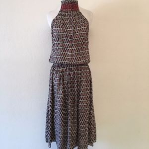 Silk Sleeveless Boho Silk Dress Size 6